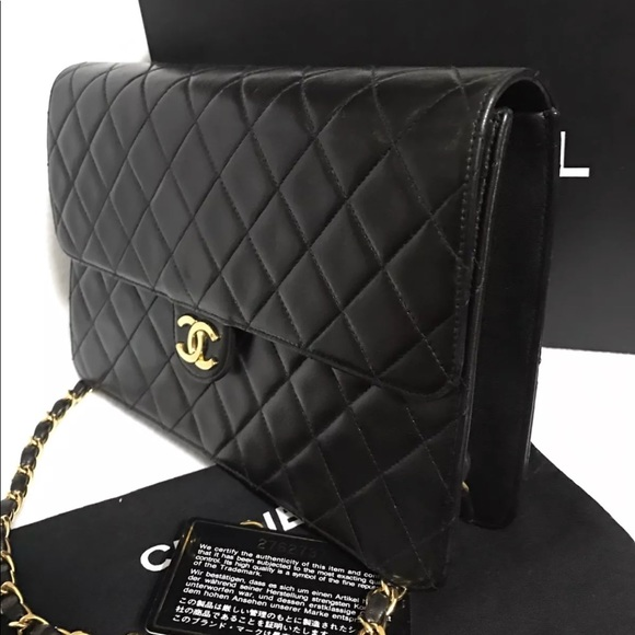75d54f795484 CHANEL Bags | Quilted Matelasse 25 Cc Logo Push Lock | Poshmark